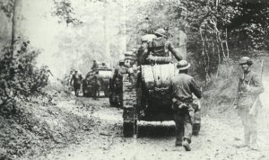 American soldiers with French FT-17