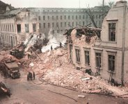 Bomb damage to the Reichs Chancellery