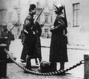 French colonial troops in Odessa