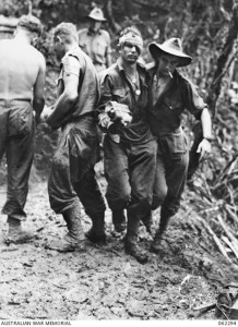 wounded Australian soldier Pimple Hill