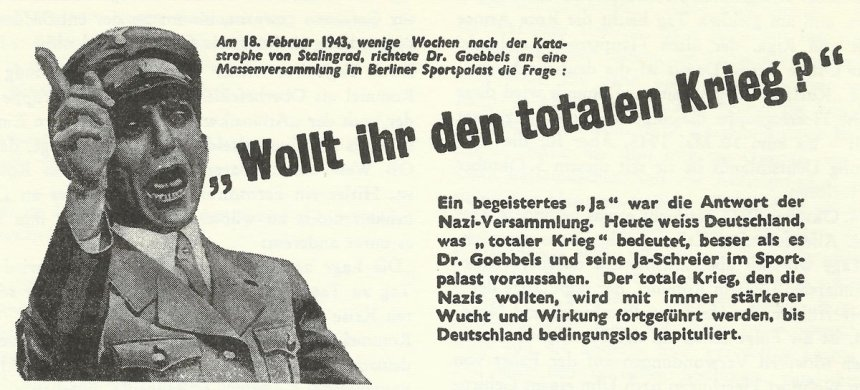 allied flyer dropped over Germany
