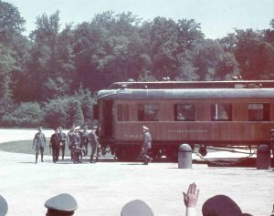 railway carriage of Marshal Foch 1940