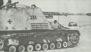 German Hornisse tank destroyers