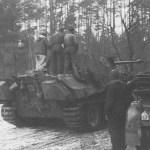 Panther tank of 'Reich'