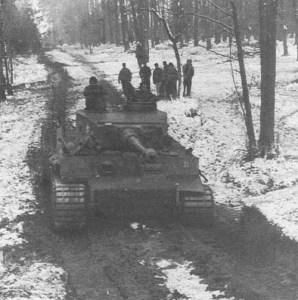 Tiger tank from 'Das Reich'