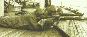 American soldiers aboard a cruiser to Arkhangelsk