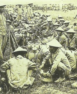 French troops from Indochina
