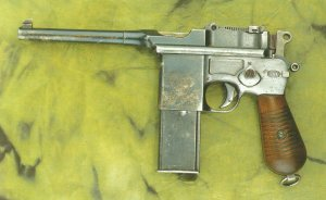 Mauser pistol model 1932