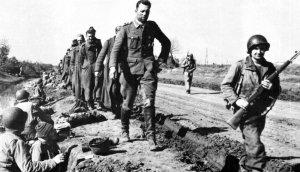 German prisoners at Anzio