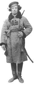 Fyodor Shuss, cavalry commander of the Ukrainians