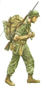 US sniper in North Burma