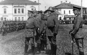 German troops in the Baltic States