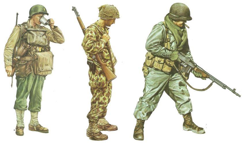 US uniforms 1944-45