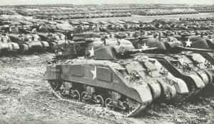 tanks prepared for invasion