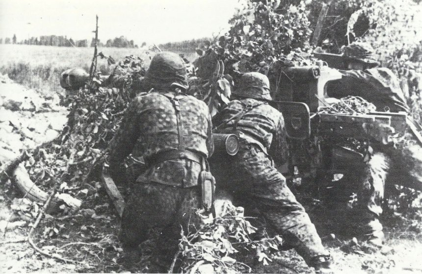 7.5 cm Pak 40 of the Hitler Youth Division