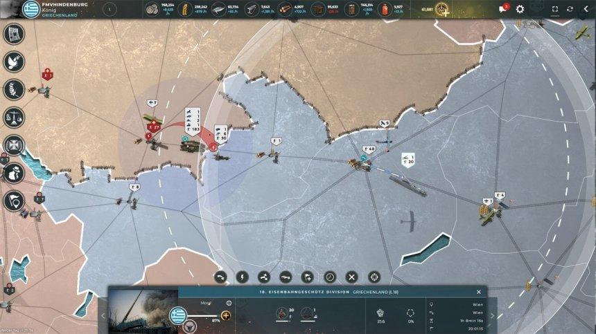 Greek counteroffensive against the Dutch