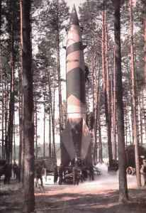 V-2 before trial launch