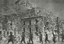 Polish soldiers occupy Monte Cassino