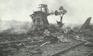 railway junction of Amiens in France on June 5, 1944
