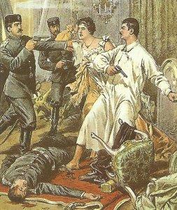 Murder of the Serbian king Alexander Obrenovic