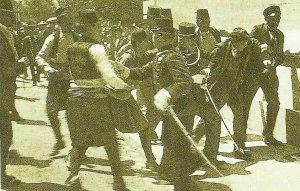 Gavrilo Princips arrested