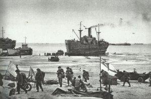 British landing on D-Day