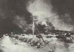 Canadian troops near Caen
