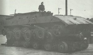 chassis of the E-100