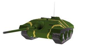 tank destroyer E-25
