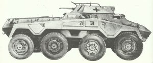 SPzSpWg (2cm) SdKfz 234/1
