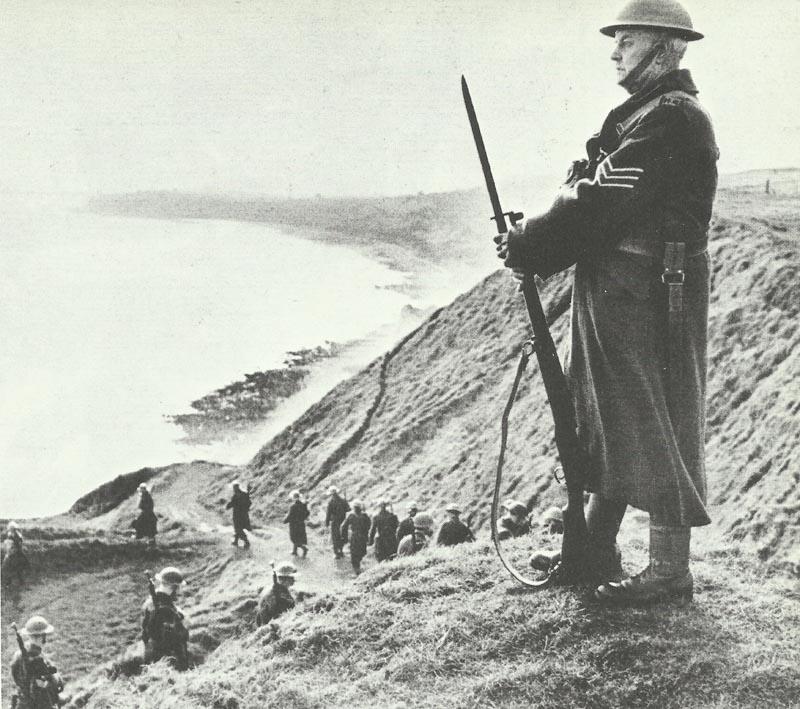 Home Guard at coast