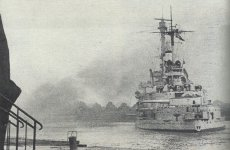 'Schleswig-Holstein' bombards the Westerplatte