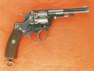 Belgian officer revolver Nagant model 1884