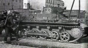 PzKpfw I Ausf B in Poland