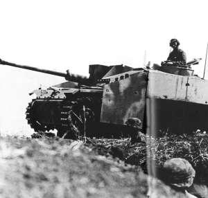 StuG III of the II SS Panzer corps