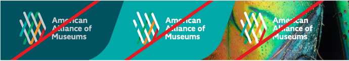 Image: Examples of AAM Logo Misuse