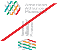 Image: Examples of AAM Logo Rotation and Distortion