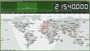 Bonito RadioJet Frequency World Map