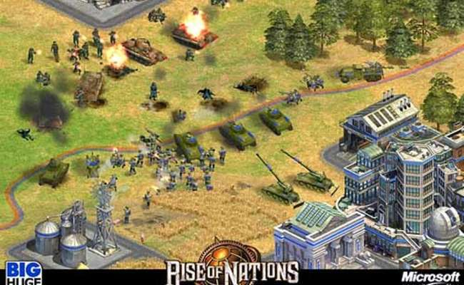 Rise Of Nations Comes Up Big Strategy Game Sets Standard