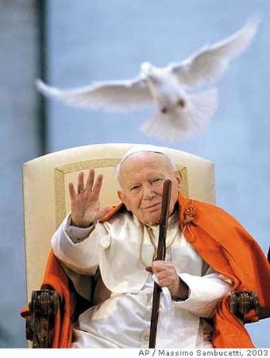 Image result for pope john paul