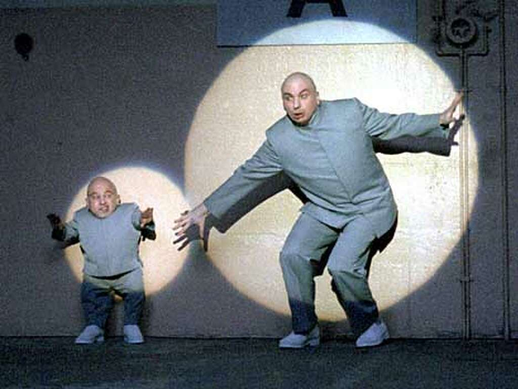 Image result for a picture of mike myers and mini me