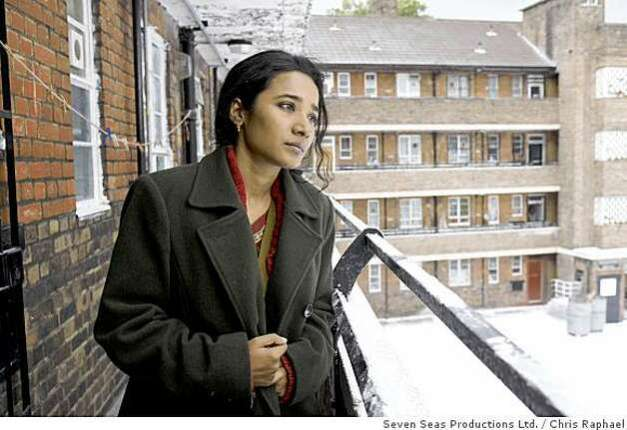 Tannishtha Chatterjee as Nazneen in Brick Lane.Photo by Chris Raphael � 2007 Seven Seas Productions Ltd., courtesy Sony Pictures Classics.  All Rights Reserved. Photo: Chris Raphael, Seven Seas Productions Ltd. / SF