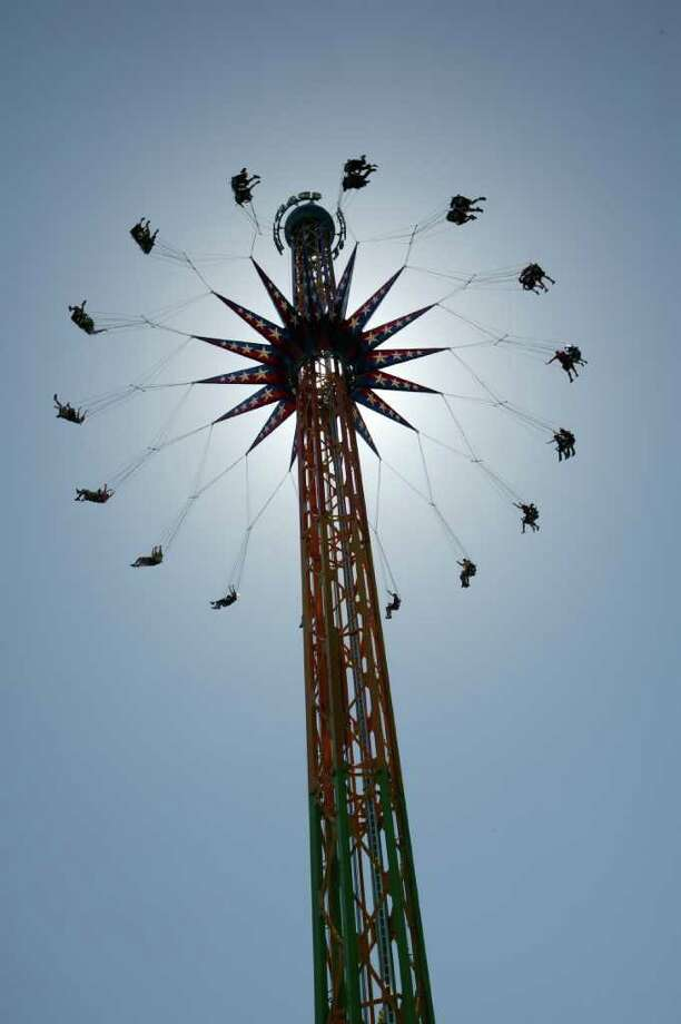 Fiesta Texas ramps it up with the SkyScreamer  San