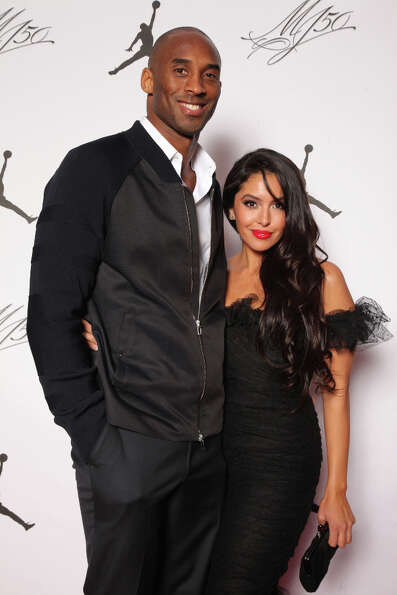 IMAGE DISTRIBUTED FOR JORDAN BRAND - Kobe and Vanessa Bryant are seen at the Jordan Brand party cele
