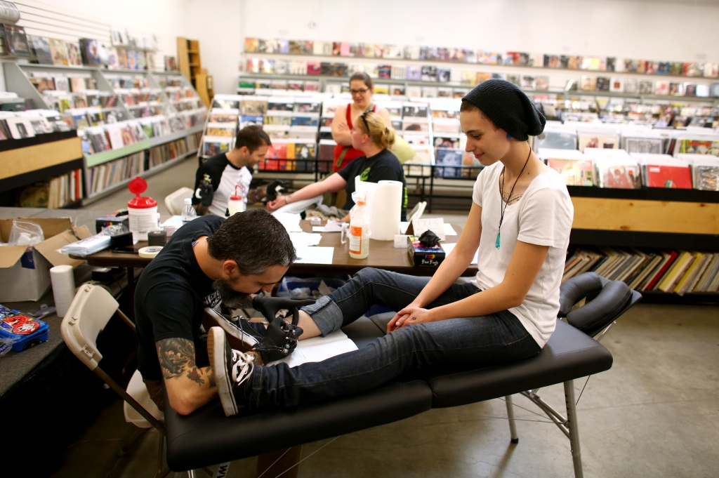 Fans Get Nirvana Tattoos For 'in Utero' Reissue  Times Union