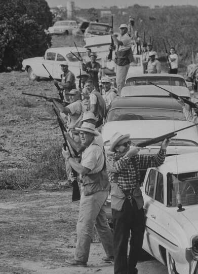 Dove hunt in Texas, 1961.