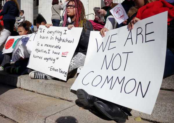Parents And Students Protest Common Core - Times Union