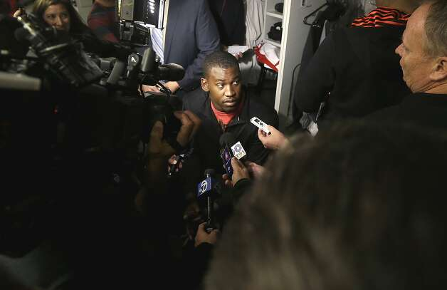 Aldon Smith missed five games while in rehab. Photo: Jeff Chiu, Associated Press
