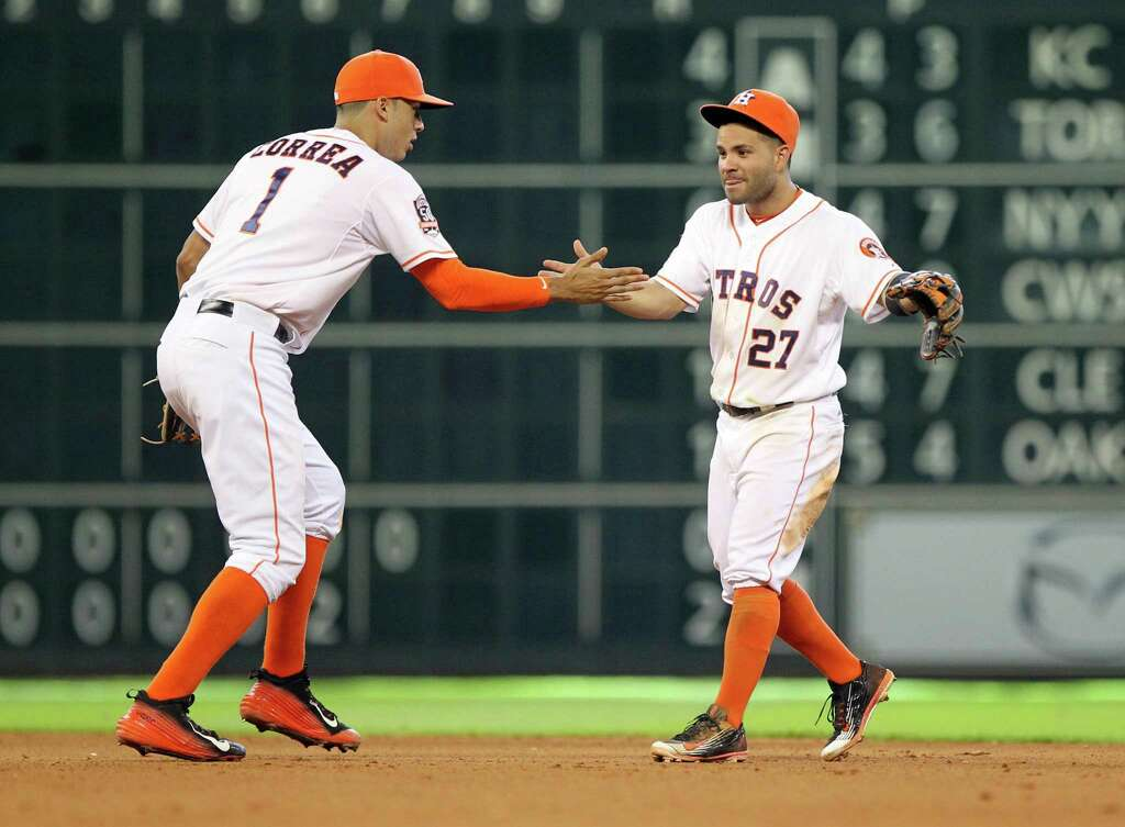 Image result for altuve and correa