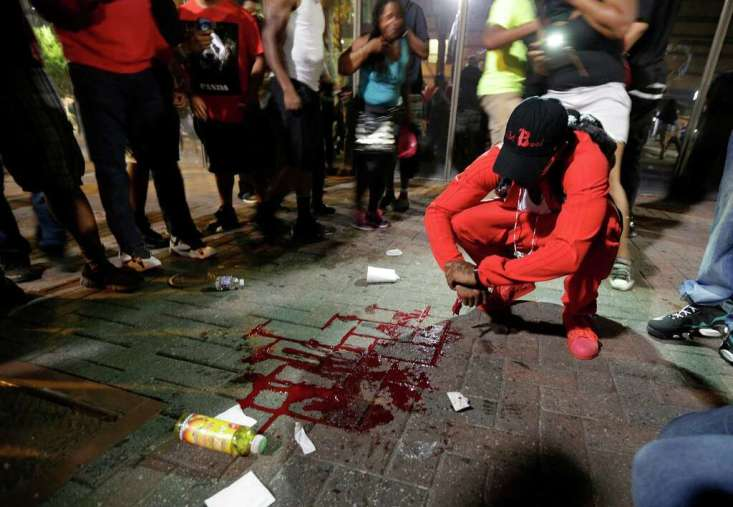 Image result for Charlotte Protest Turns Violent, Governor Declares State of Emergency